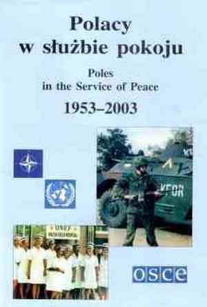 Polacy w służbie pokoju 1953-2003 - okładka książki
