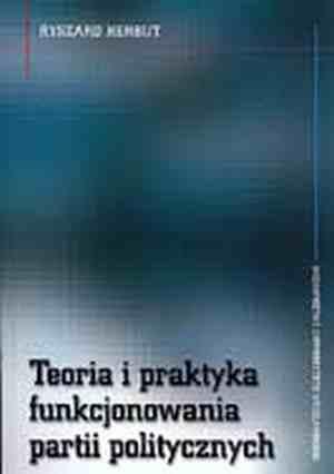 Teoria i praktyka funkcjonowania - okładka książki
