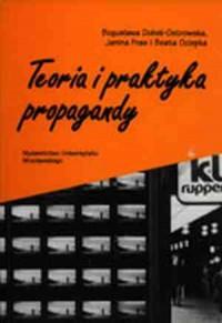 Teoria i praktyka propagandy - okładka książki