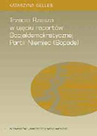 Trzecia Rzesza. W ujęciu raportów Socjaldemokratycznej Partii Niemiec - okładka książki