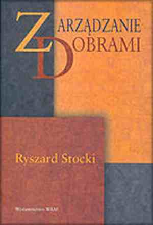 Zarządzanie dobrami - okładka książki