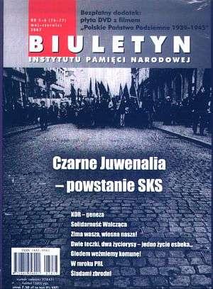 Biuletyn IPN nr 76 - 77 (5-6) / - okładka książki