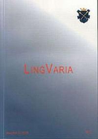 Lingvaria nr 22006 - Wydawnictwo Księgarnia Akademicka - okładka książki
