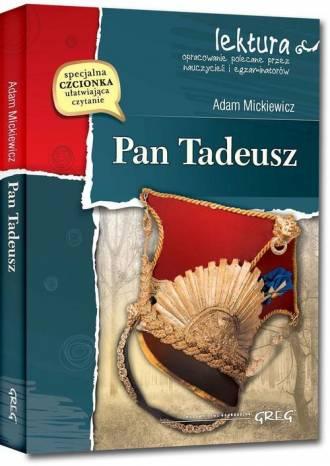 Pan Tadeusz. Lektura. Wydanie z - okładka podręcznika