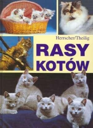 Rasy kotów - okładka książki