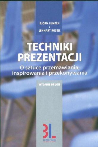 Techniki prezentacji. O sztuce - okładka książki