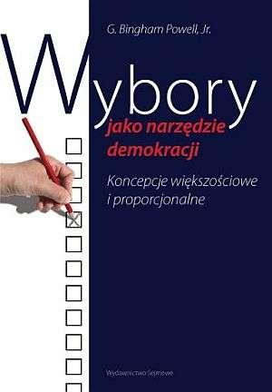 Wybory jako narzędzie demokracji, - okładka książki