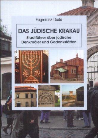 Żydowski Kraków (wersja niem.) - okładka książki
