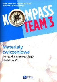 Kompass Team 3. Szkoła podstawowa. - okładka podręcznika