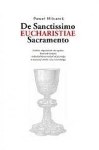 De Santissimo Eucharistiae Sacramento - okładka książki