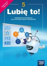 Informatyka Lubię to podręcznik - okładka podręcznika