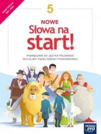 Język polski. Nowe Słowa na start! - okładka podręcznika