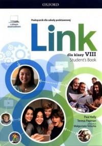 Link 8 Podręcznik z cyfrowym odzwierciedleniem - okładka podręcznika