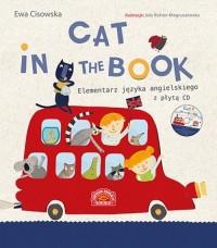 Cat in the book Elementarz języka - okładka książki