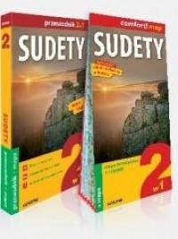 Explore! guide Sudety 2w1 Przewodnik+mapa - okładka książki