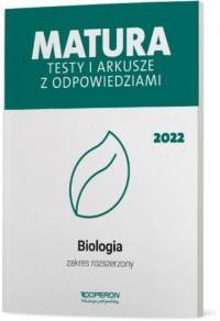 Matura 2022. Biologia. Testy i - okładka podręcznika