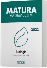 Matura 2022. Biologia. Vademecum. - okładka podręcznika