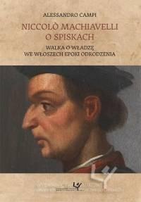 Niccolò Machiavelli o spiskach. - okładka książki