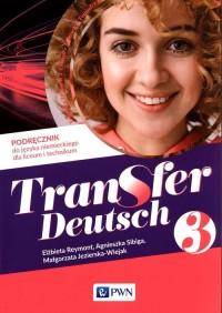 Transfer Deutsch 3. Podręcznik - okładka podręcznika