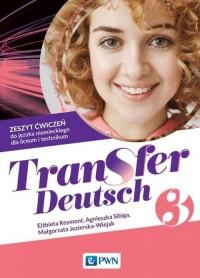 Transfer Deutsch 3. Zeszyt ćwiczeń - okładka podręcznika
