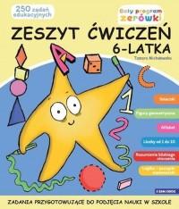 Zeszyt ćwiczeń 6-latka - okładka książki