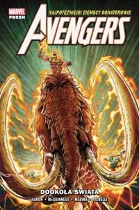 Avengers. Dookoła świata. Tom 2 - okładka książki