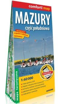 Comfort! map Mazury cz. południowa - okładka książki