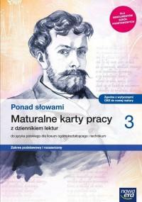 Język Polski. LO 3. Ponad słowami. - okładka podręcznika
