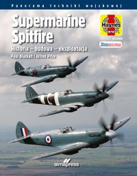 Supermarine Spitfire. Historia - okładka książki