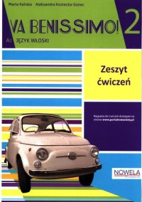 Va Benissimo! 2 A2 ćwiczenia - okładka podręcznika