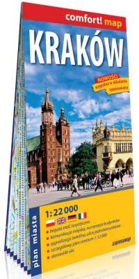 Comfort! map - Kraków 1:22 000 - okładka książki