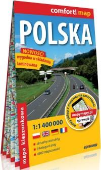 Comfort! map - Polska 1:1 400 000 - okładka książki