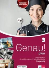 Genau plus 3. Podręcznik - okładka podręcznika