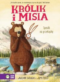 Królik i Misia Sposób na przekąskę - okładka książki