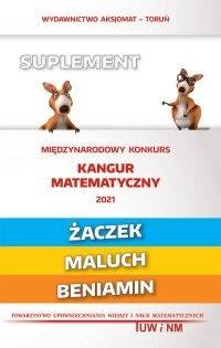 Matematyka z wesołym kangurem Suplem - okładka książki