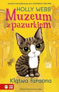 Muzeum z pazurkiem. Klątwa faraona - okładka książki