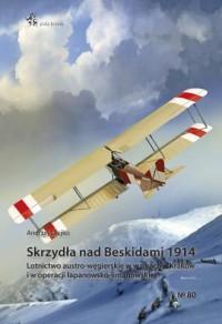Skrzydła nad Beskidami 1914 - okładka książki