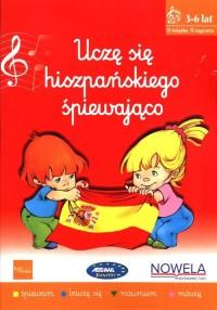 Uczę się hiszpańskiego śpiewająco - okładka podręcznika