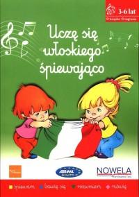 Uczę się włoskiego śpiewająco Książka - okładka podręcznika