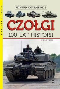 Czołgi 100 lat historii - okładka książki