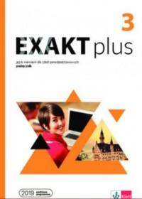 Exakt plus 3. Podręcznik - okładka podręcznika
