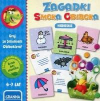 Gra Zagadki Smoka Obiboka (niebieskie) - zdjęcie zabawki, gry