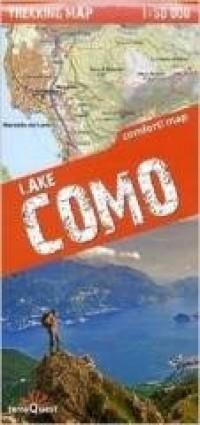 Trekking map Jezioro Como 1:50 - okładka książki