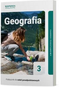 Geografia. LO 3. Podręcznik. Zakres - okładka podręcznika