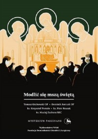 Modlić się mszą świętą - okładka książki