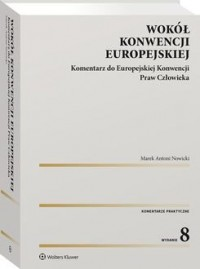 Wokół Konwencji Europejskiej. Komentarz - okładka książki