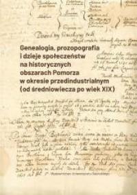 Genealogia, prozopografia i dzieje - okładka książki