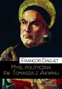 Myśl polityczna św. Tomasza z Akwinu - okładka książki