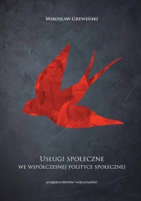 Usługi społeczne we współczesnej - okładka książki