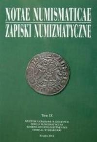 Notae Numismaticae. Zapiski Numizmatyczne. - okładka książki
